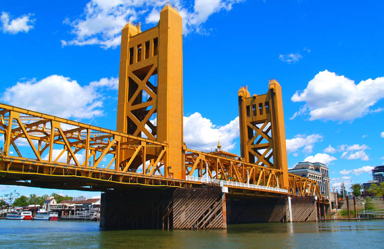 Sacramento River bridge